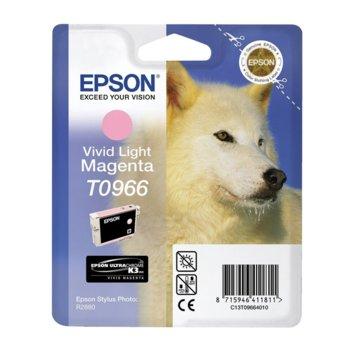 ГЛАВА ЗА EPSON Stylus Photo R2880 - Light Magenta - T0966 - P№ C13T09664010 - 11.4ml image