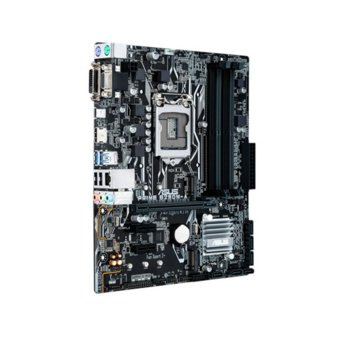 Дънна платка Asus PRIME B250M-A, B250, LGA 1151, DDR4, PCI-E 3.0(HDMI/DVI/D-Sub), 6x SATA 6Gb/s, 2x USB 3.0, 2x M.2 Sockets, mATX image
