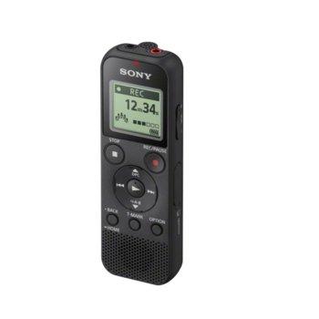 Диктофон Sony ICD-PX370, 4GB, USB, черен image