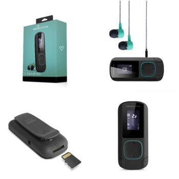 MP3 плейър Energy Sistem 42650, 8GB, 2.08cm дисплей, Bluetooth, мента image