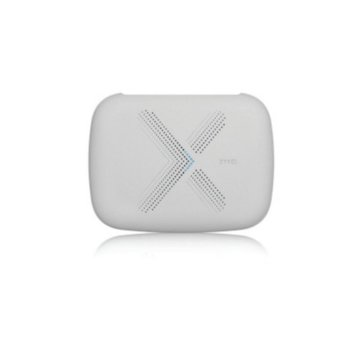 Точка за достъп ZyXEL Multy Plus, AC3000, 2.4 GHz (400Mbps)/5GHz (866Mbps)/5GHz (1733Mbps), 3x 10/100/100 LAN, 1x 10/100/100 WAN, 1x USB 2.0, Bluetooth, 9x вътрешна антени image
