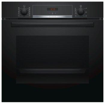 Фурна за вграждане Bosch HBA554EB0, клас A, 71л. обем, 3D циркулация на горещ въздух, 7 начина на нагряване, LCD дисплей, черна image