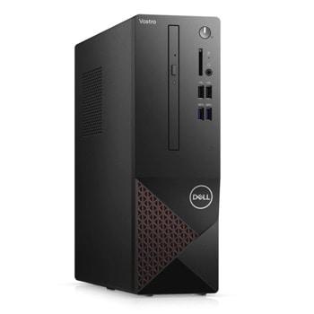 Настолен компютър Dell Vostro 3681 SFF (N217VD3681EMEA01_2101), осемядрен Comet Lake Intel Core i7-10700 2.9/4.8 GHz, 8GB DDR4, 1TB HDD, клавиатура и мишка, Windows 10 Pro image