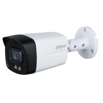 """HDCVI камера Dahua HAC-HFW1509TLM-A-LED-036, насочена """"bullet"""" камера, 5 Mpix(2592x1944@20fps), 3.6mm обектив, IR осветеност (до 40м), външна IP67 image"""
