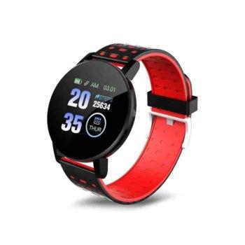 Смарт часовник 119 Plus, 44mm, Bluetooth V4.0, IP67, Различни цветове image