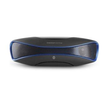 Тонколона Energy Sistem Energy Music Box BZ3, 2.0, 6W, Bluetooth 4.0, USB, черна, до 12 часа време за работа, до 10м обхват, вграден микрофон, дисплей, SD слот image