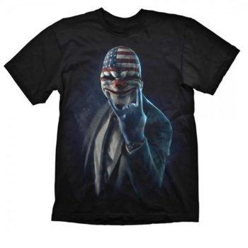 Тениска Gaya Entertainment Payday 2 Rock On, размер XL, черна image