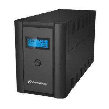 UPS Powerwalker VI 2200 LCD UPS, 2200VА/1200W, Line Interactive  image