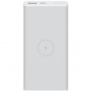 Bъншна батерия /power bank/ Xiaomi Mi Wireless Power Bank Essential, 10000 mAh, бяла, безжично зареждане, USB Type C, USB, 9V/2A image