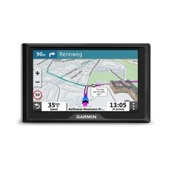 """Навигация за автомобил Garmin Drive 52 MT-S EU, 5.0"""" (12.7 см) WQVGA TFT дисплей, microSD слот, Bluetooth, карта на Европа, доживотно обновяване image"""