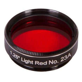 Филтър за телескоп Explore Scientific N23A, светлочервен филтър, 1.25mm диаметър на цилиндъра, анти-рефлективен image