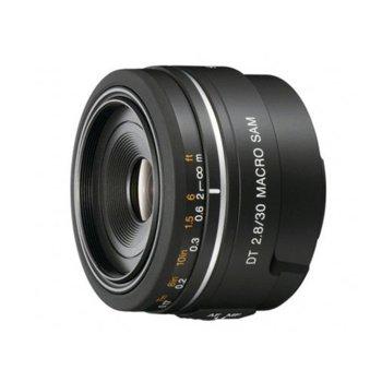 Обектив Sony SAL-30M28, 30mm, f/2.8 Macro, DSLR image