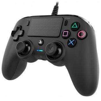 Геймпад Nacon Wired Compact, за PC/PS4, USB, 3.0m, черен image