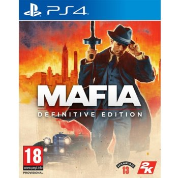Игра за конзола Mafia: Definitive Edition, за PS4 image