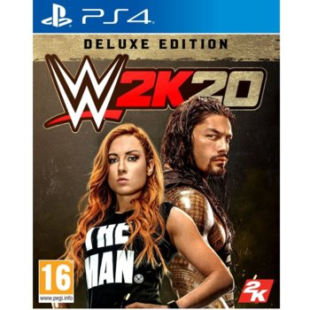 WWE 2K20 Deluxe Edition PS4 product