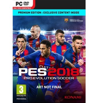 Игра Pro Evolution Soccer 2018 Premium Edition, за PC image