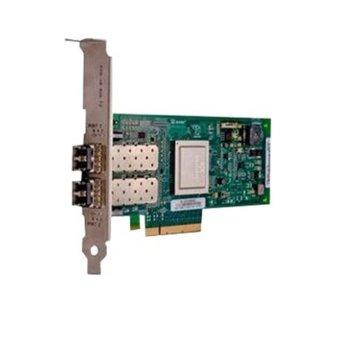 Контролер PCI-E x8, Dell QLogic 2562 Dual Port 8Gb Fibre Channel Host Bus Adapter image