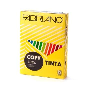 Копирен картон Fabriano, A4, 160 g/m2, жълт, 250 листа image