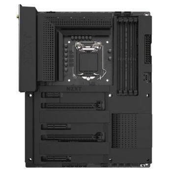 Дънна платка NZXT N7 Z390 MATTE Black (N7-Z39XT-B1), Z390, LGA1151, DDR4, PCI-E (HDMI)(CFX), 4x SATA 6Gb/S, 2x M.2 Socket, 4x USB 3.1 Gen 2, Wi-Fi, Bluetooth 5.0, ATX image