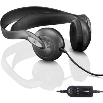 Слушалки AKG K516 (мостра), за телевизор, саморегулираща се лента, 20 - 20kHz, 6m кабел, черни image
