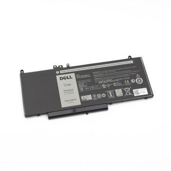 Батерия (oригинална) за лаптоп Dell, съвместима със серия Latitude 3100 5250 5450 5550, 4-Cells, 7.4V, 6800mAh image