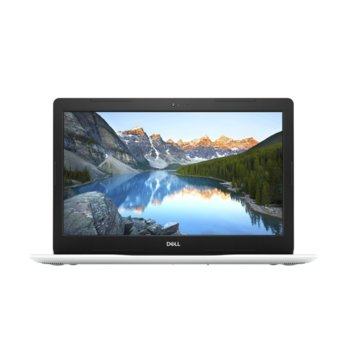 "Лаптоп Dell Inspiron 3581 (5397184225646)(бял), двуядрен Kaby Lake Intel Core i3-7020U 2.3 GHz, 15.6"" (39.62 cm) Full HD Anti-Glare Display & Radeon 520 2GB, (HDMI), 4GB DDR4, 1TB HDD, 2x USB 3.1, Linux, 2.28 kg image"
