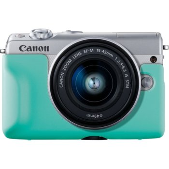 Протектор/калъф Canon EH31-FJ Face Jacket, за фотоапарат Canon EOS M100, зелен image