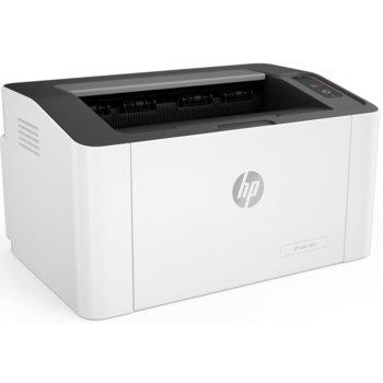Лазерен принтер HP Laser 107a, монохромен, 1200 x 1200 dpi, 20 стр/мин, USB, А4 image