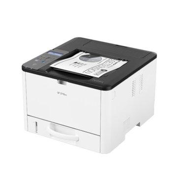 Лазерен принтер Ricoh SP3710DN, монохромен, 1200 x 1200, 34 стр/мин, LAN, USB, A4 image