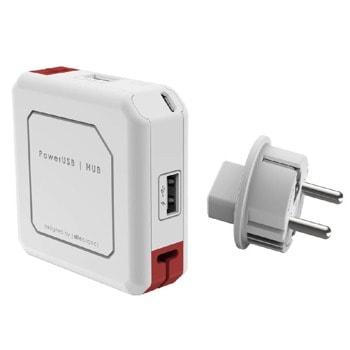 USB Хъб Allocacoc PowerUSB 9302, 4 порта, за контакт image