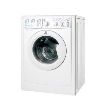 Перална машина Indesit IWC-71051 C ECO EU, клас А+, капацитет 7 кг., таймер, 1000 обр/мин, бяла image
