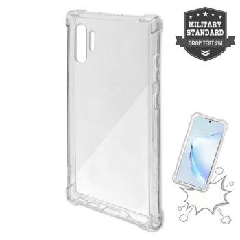 Калъф за Samsung Galaxy Note 10 Plus, хибриден, 4Smarts Hard Cover Ibiza 4S467505, удароустойчив, прозрачен image