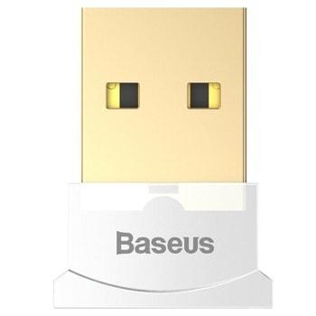 Адаптер Baseus CCALL-BT02, USB, Bluetooth v4.0, обхват до 10m, бял image