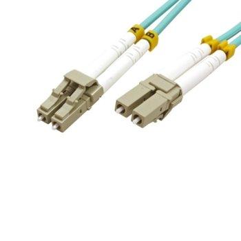 Оптичен пач кабел Roline 21.99.8703, от LC към LC, 50/125, 3m image