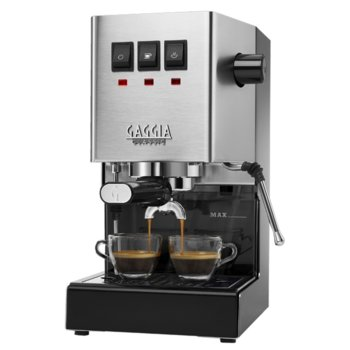 Ръчна еспресо машина GAGGIA Classic, 1300 W, 15 bar, Crema филтър, инокс image
