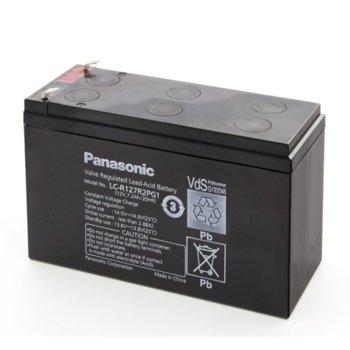 Акумулаторна батерия Panasonic LC-R127R2PG1, 12V, 7.2Ah, VRLA image