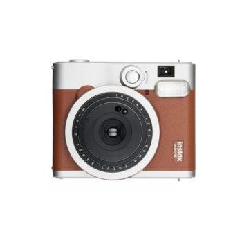 Фотоапарат Fujifilm Instax Mini 90 Neo Classic (кафяв), моментални снимки, светкавица, пейзаж image