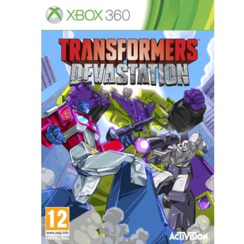 Transformers: Devastation (Xbox 360) product