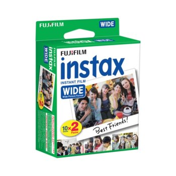 Фотохартия Fujifilm Wide Instant Film, за Fujifilm Иnstax 210 Wide Instant Film, 20 листа image