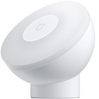 LED стенна лампа Xiaomi Mi Motion-Activated Night Light 2, 0.25W, 3.8 lm, 2700k цветна температура, бял image