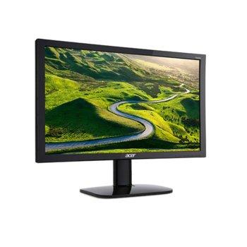 """Монитор Acer KA240Hbid UM.FX0EE.005, 24"""" (61.96), TN панел, Full HD, 5 ms, 100 000 000:1, 250 cd/m2, HDMI, DVI, D-Sub image"""