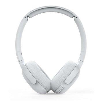 Слушалки Philips TAUH202WT, безжични, микрофон, бели image