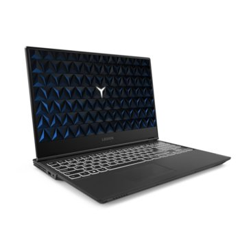 "Лаптоп Lenovo Legion Y540-15IRH-PG0 (81SY00P7BM), шестядрен Coffee Lake Intel Core i7-9750HF 2.6/4.5 GHz, 15.6"" (39.62 cm) Full HD IPS Display & GF GTX 1650 4GB, (mDP), 16GB DDR4, 1x USB-C, No OS image"