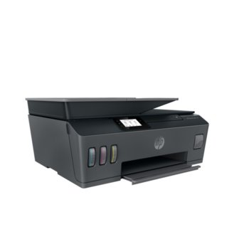 Мултифункционално мастиленоструйно устройство HP Smart Tank 530, цветен принтер/копир/скенер, 1200 x 1200 dpi, 11 стр./мин, USB, Wi-Fi, Bluetooth, A4 image