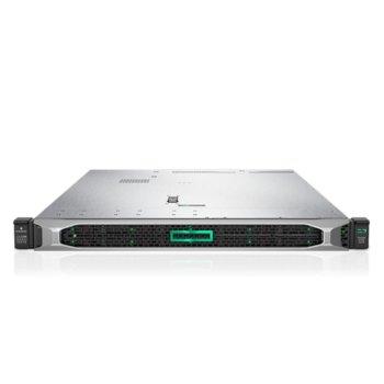 Сървър HPE DL360 G10 (PERFDL360-022), десетядрен Skylake Intel Xeon-Silver 4114 2.2/3.0 GHz, 32GB DDR4, без твърд диск, 4x 1GbE, 3x USB 3.0, без ОС, 2x 500W PSU image