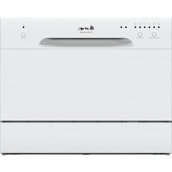 Съдомиялна Arielli ADW6-3601N White, клас A+, 6 комплекта, 6 програми, бяла image