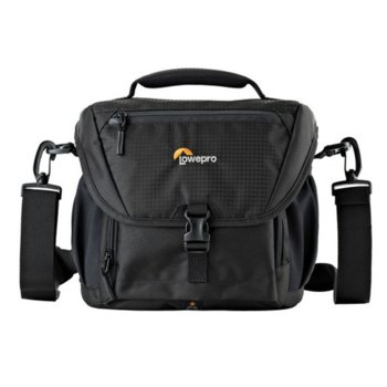 Чанта за фотоапарат Lowepro Nova 170 AW II, за SLR с прикачен обектив, черен image