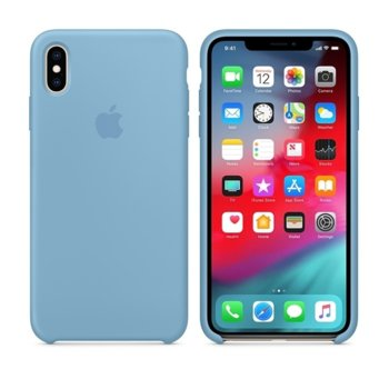 Apple iPhone XS Max Silicone Case - Cornflower product