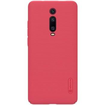 Калъф за Xiaomi Mi 9T, поликарбонатен, Nillkin super frosted shield, червен image