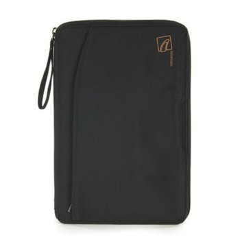 """Калъф /тип джоб/ за таблет TUCANO TABY10, до 10"""" (25.4cm), кожа с вътрешно микрофибърно покритие, черен image"""